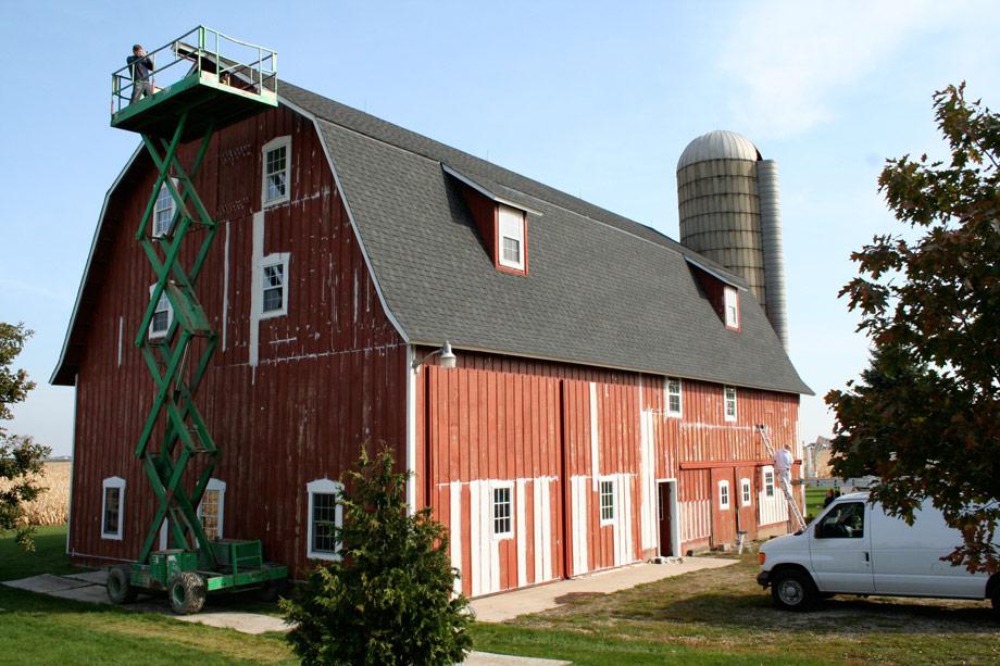 Yorkville Il Barn Painter