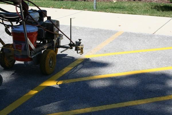 Oswego Parking Lot Striping