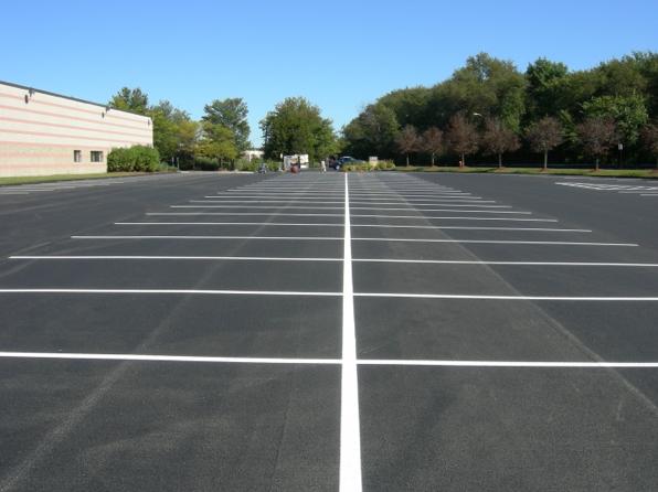 Springfield Parking Lot Striping