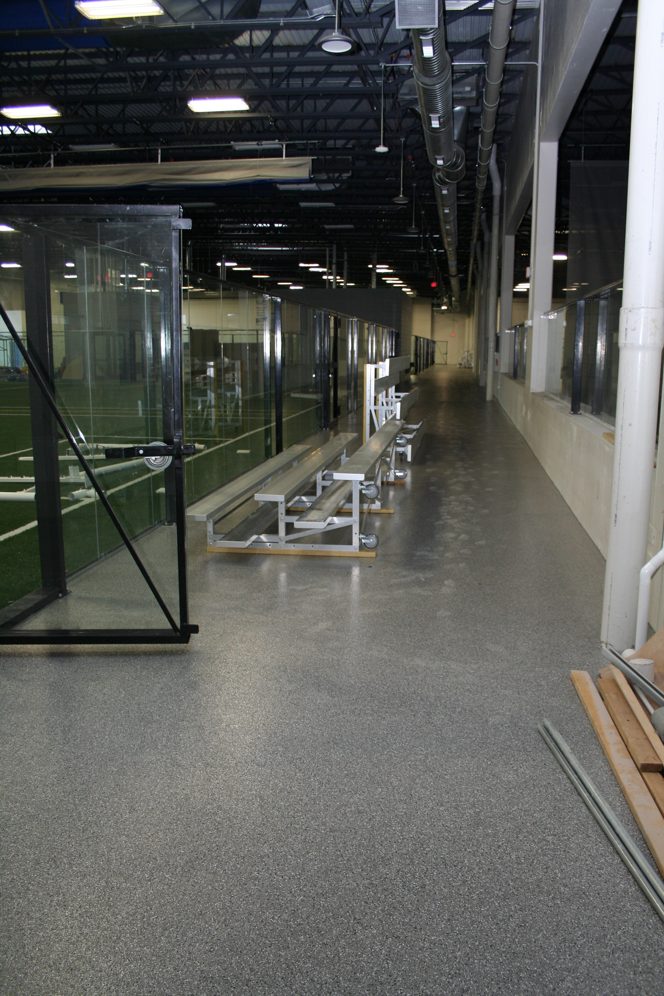 Epoxy Corridors