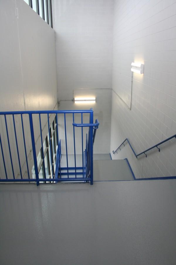 Urethane Alkyd Enamel Handrails
